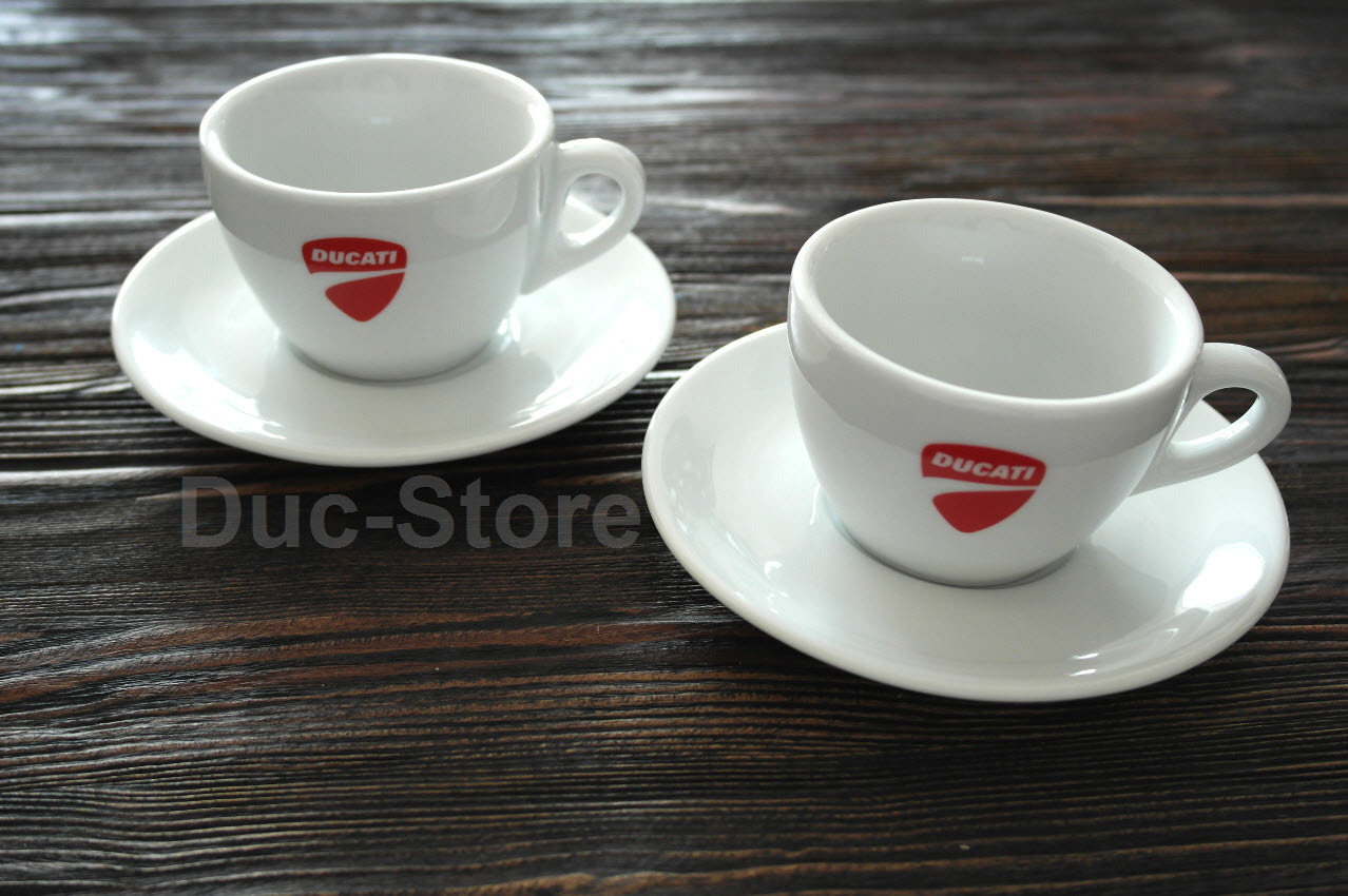ducati cappuccino kaffee tassen der ducati laden werkstatt reifenservice. Black Bedroom Furniture Sets. Home Design Ideas