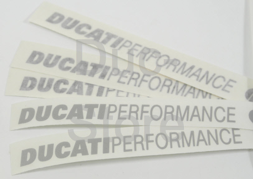Ducati Performance Stickers For Seat Cowl Old Superbike The Ducati