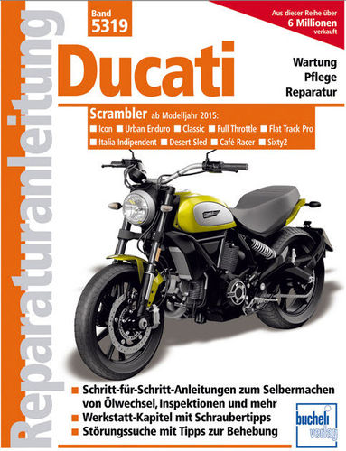 REPAIR MANUAL DUCATI Scrambler