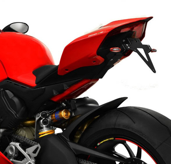 Panigale V4 License holder / Number plate holder Ducati Panigale V4