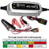 Battery charger CTEK XS0.8, 12 V - 0.8A charging current: 0.8 A / battery capacity 0,8-100AH