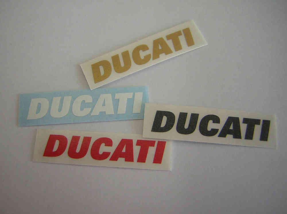 Aufkleber Ducati Schriftzug Ab 200