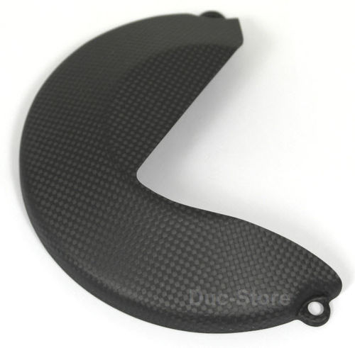 clutch cover carbon mat for Ducati Monster 1200
