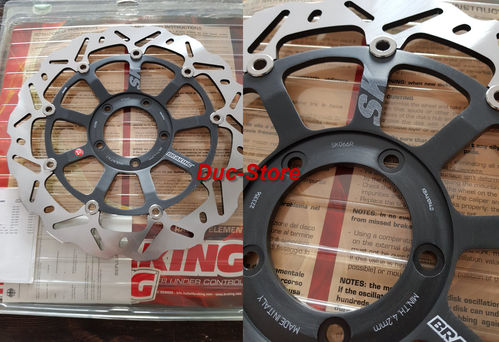 PAIR Wave SK066L+ SK006R Front Braking Disc for Ducati 749 - 999