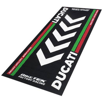 Biketek Ducati Carpet black / Garage matte